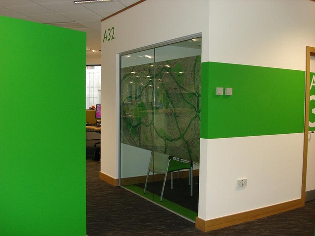 colour branding and glass manifestation by Opening the Book, via Flickr