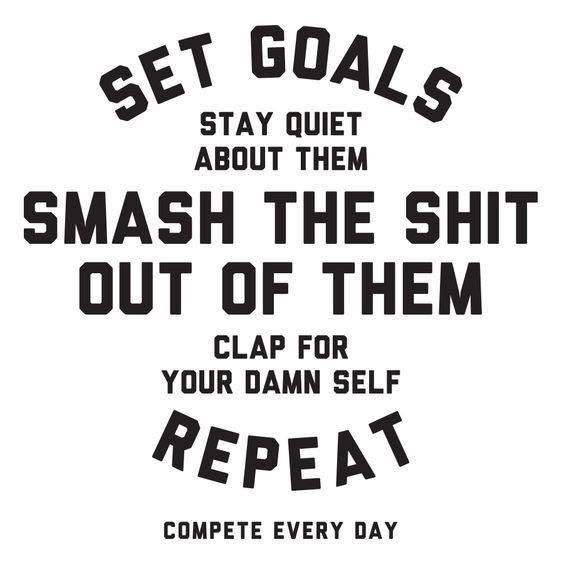 Image result for set goal quotes