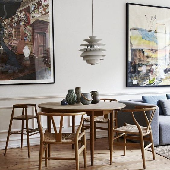 Best 25 Wishbone chair ideas on Pinterest Dining Dining area