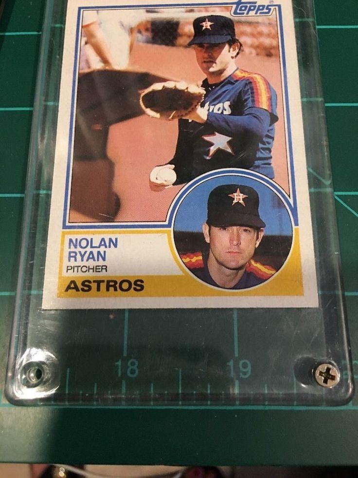 Nolan Ryan 360 Topps 1983 Near Mint TC 69 70 | eBay