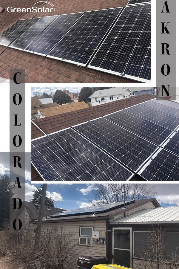 Photovoltaic System In Akron Co Photovoltaic System Solar Technology Solar Installation