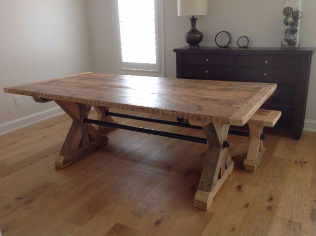 25 Best Ideas About Harvest Tables On Pinterest Plank
