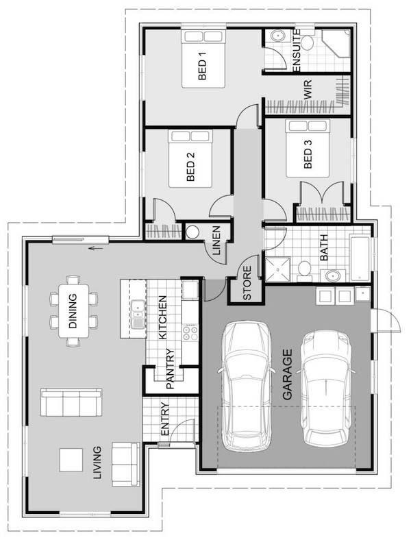 Waxeye Floorplan 165m2 Open House Plans Beautiful House Plans House Plan Gallery