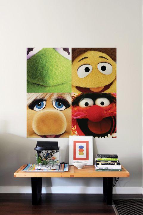 Kermit - Dalles Murales par Les Muppets