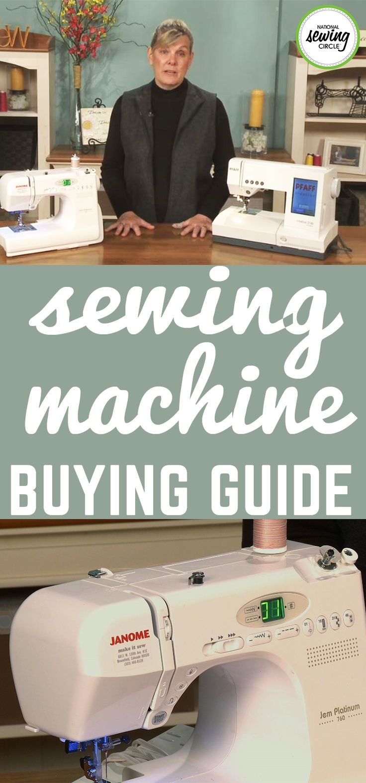There are many different routes to take when it comes to deciding where to buy a sewing machine. ZJ Humbach takes you through many of these options and discusses the advantages and disadvantages of each option. Keep these helpful hints in mind next time you're looking for a new sewing machine!