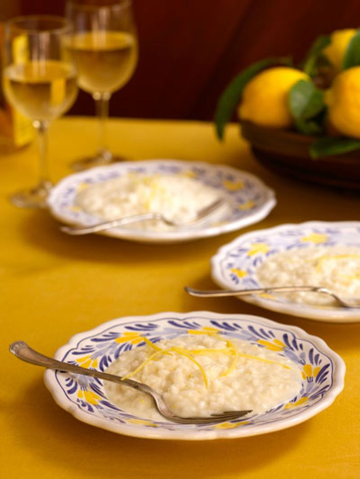 Lemon Risotto (Risotto al Limone) Recipe | SAVEUR