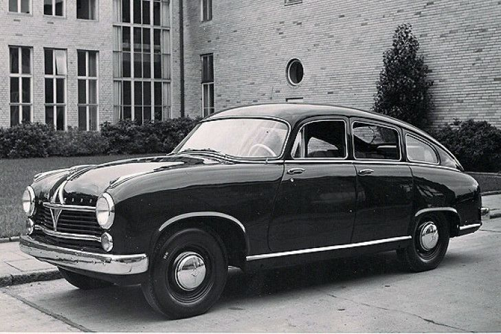 Borgward Hansa 2400 Sportlimousine 1952
