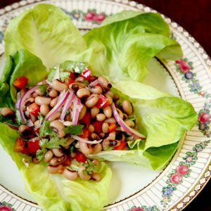 Texas Caviar by saveur: The simply delicious creation of black eyed peas created by the legendary Texas cook Helen Corbitt in Austin in 1940. #Salad #Black_Eyed_Peas #Helen_Corbitt #saveur