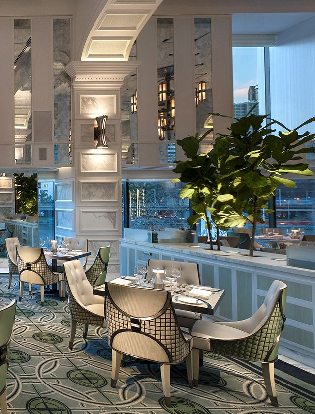 Restaurant Interior Design Melbourne : Melbourne conservatory at the crown towers by blainey