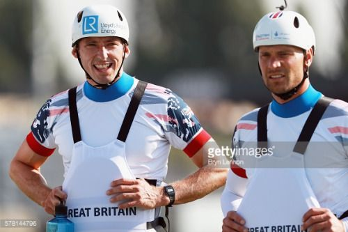 LONDON, ENGLAND - JULY 20: David Florence (l) and Richard... #hounslow: LONDON, ENGLAND - JULY 20: David Florence (l) and… #hounslow