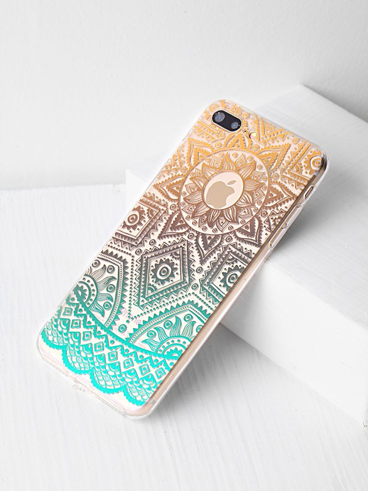 Shop Ombre Tribal Pattern Clear iPhone 7 Plus Case online. SheIn offers Ombre Tribal Pattern Clear iPhone 7 Plus Case & more to fit your fashionable needs.