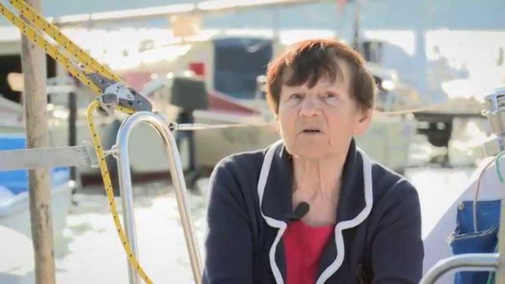 PIERWSZA DAMA OCEANÓW - PIERWSZA DAMA OCEANÓW - Krystyna Chojnowska-Liskiewicz była pierwszą żeglarką, która okrążyła świat. Przydomkiem Pierwsza Dama Oceanów ochrzciły ją media na całym świecie_  reportaż Olgi Mickiewicz_Video Youtube: