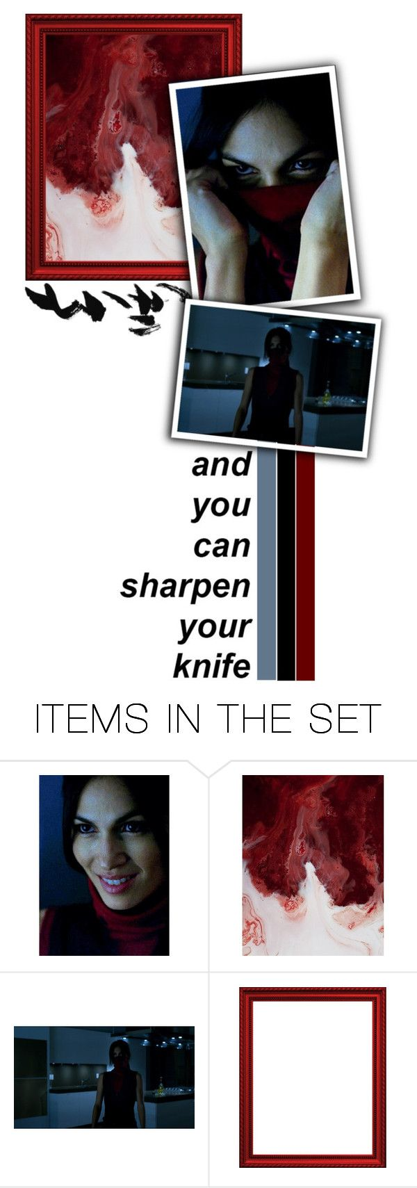 """""""Daredevil // Elektra Natchios // """"I'll tell you my sins and you can sharpen your knife."""""""" by alyssaclair-winchester ❤ liked on Polyvore featuring art, marvel, daredevil and elektranatchios"""