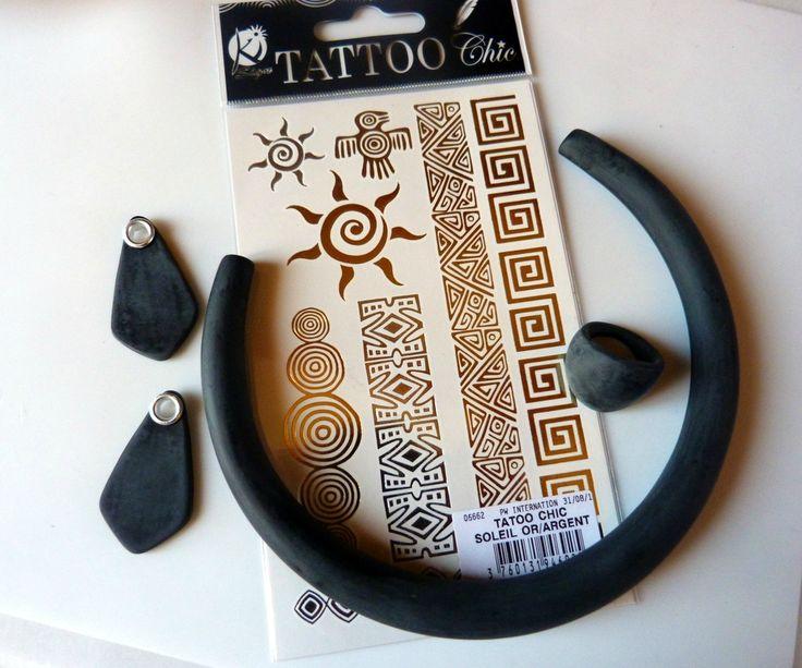 Voilà la méthode la plus facile et rapide du monde pour un résultat qui claque ! je vous montre les tatouages de peau que j'ai utilisé...