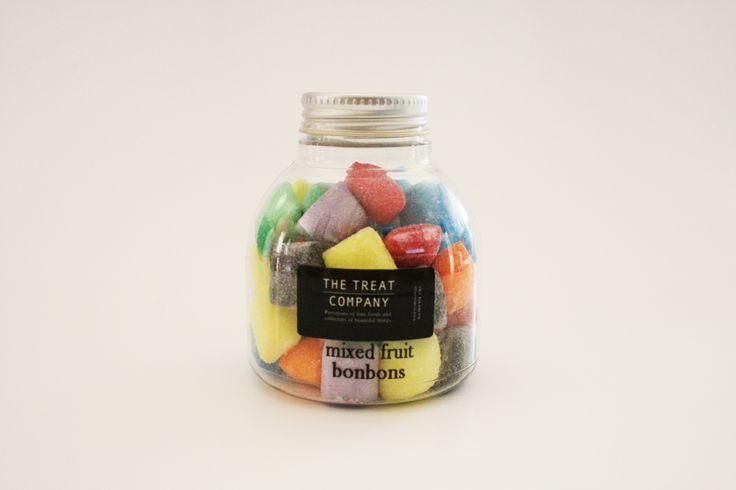 Mixed Fruit Bonbons inkpot jar 150g