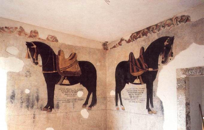 Castello Pandone, Sala del Cavallo, Venafro. 41°29′00″N 14°03′00″E