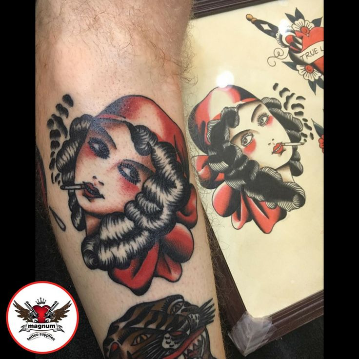 Incredible tattoo done using #magnumtattoosupplies by Mike Davies