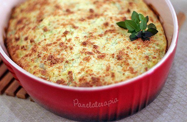 Torta Suflê de Couve-flor ~ PANELATERAPIA - Blog de Culinária, Gastronomia e Receitas Substituindo a farinha de trigo, claro