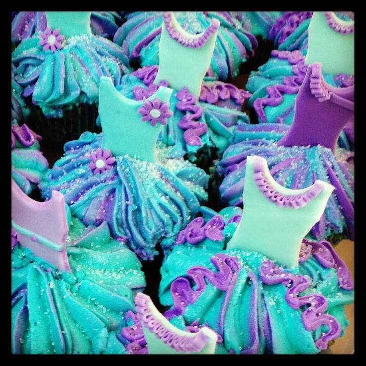 Dance cupcakes.