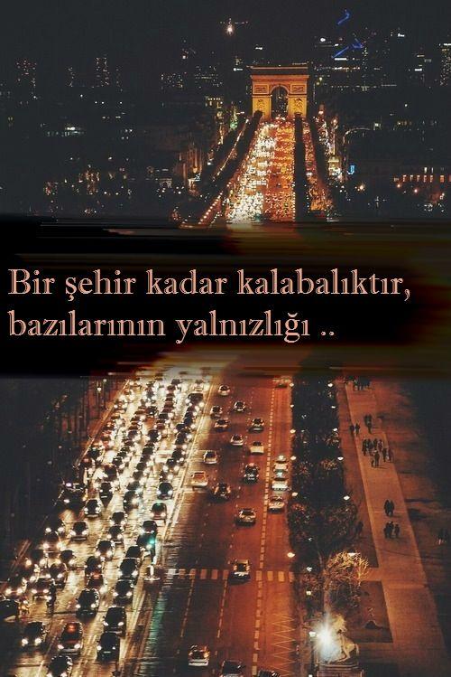 Bir şehir kadar kalabalıktır,bazılarının yalnızlığı.. - Cahit Zarifoğlu