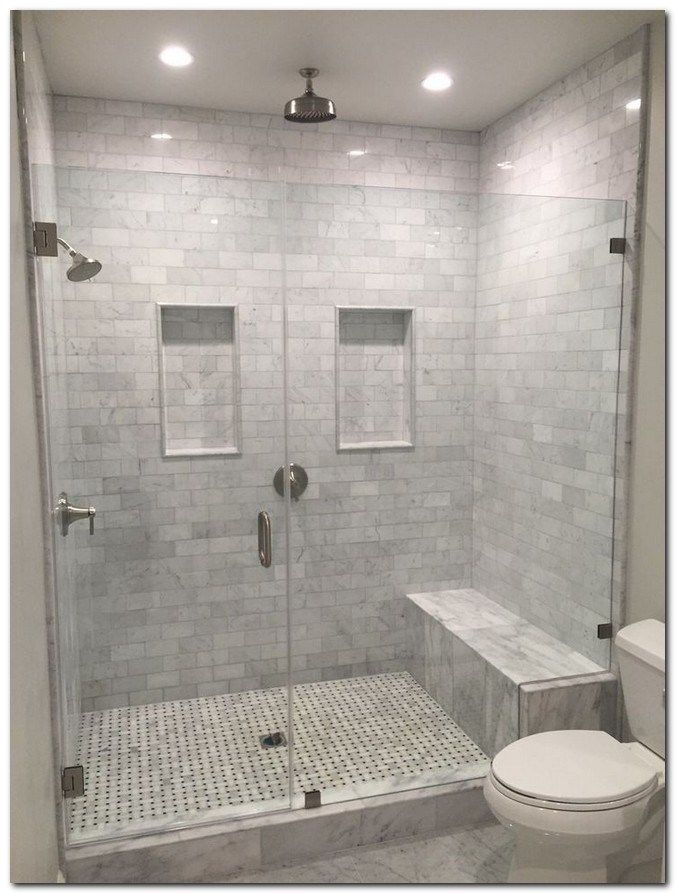 Photo of 45 Lovely Bathroom Shower Remodel Ideas #bathroomshowerremodel #lovelybathroomid…