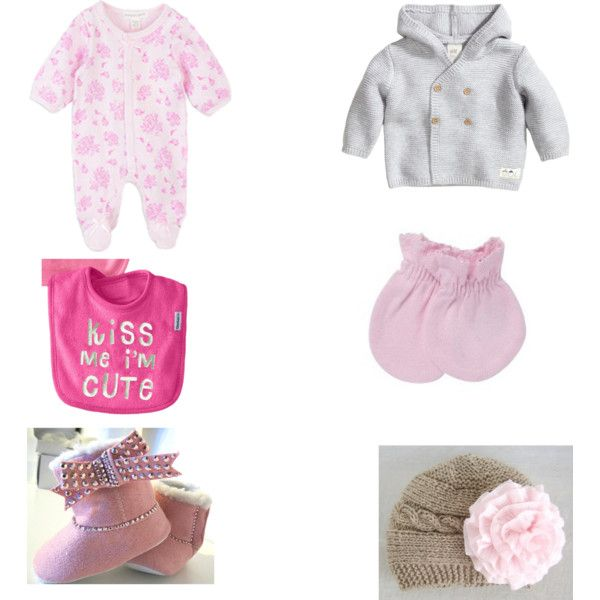 newborn baby girl outfit by nikita-austin on Polyvore featuring polyvore fashion style Gerber Kofta