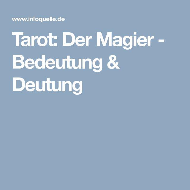 Tarot: Der Magier - Bedeutung & Deutung