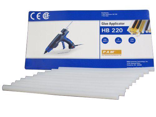 Pam UX8012 HotMmelt Adhesive Glue for HB220 Glue Gun 16-ounce PAM http://www.amazon.com/dp/B005SGMDJW/ref=cm_sw_r_pi_dp_d0ufwb03PPK6K