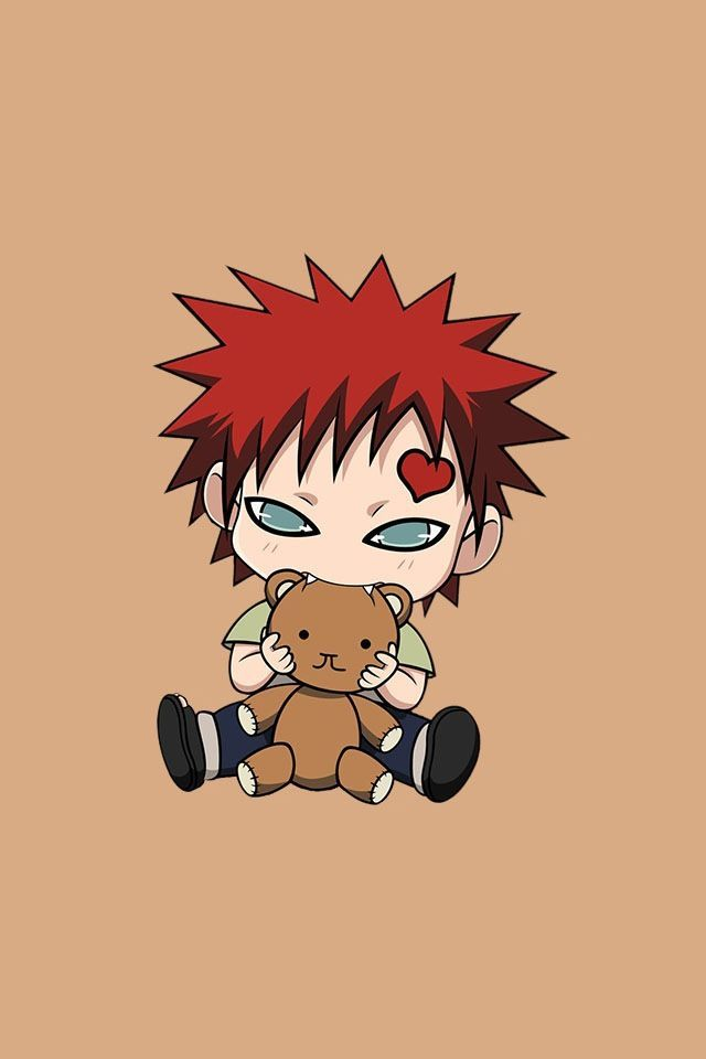 oh my god gaara is just so adorable as a kid also