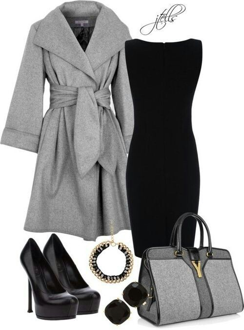Totally obsessed with business professional attire, it says a lot about your persona as a whole. Dress the part