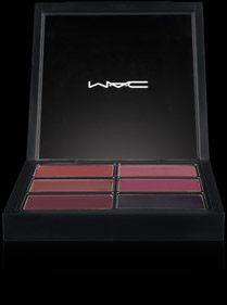 Mac Pro Lip Palette ~ 6 SELECT PLUMS ~ Glamour Daze. MAC PRO LIP PALETTE 6 SELECT PLUMS.
