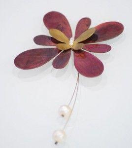 #pin #καρφίτσα #jewellery #pearls
