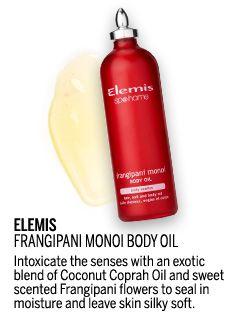 TVSN Beauty Awards 2015 - Best in Hand, Nail & Body Finalist - Elemis Frangipani Monoi Body Oil