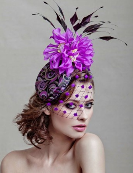 I love the bright purple!    This is a fad. It has to be.    Nope. Still like weird hats.