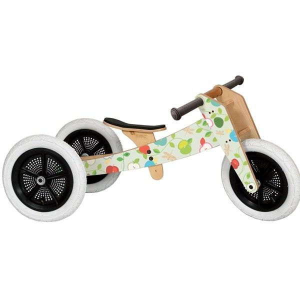 Wishbone 3-in-1 Balance Bike, Limited Apple Edition: Long Last Toys, Balance Bike, Indoor Homeless, Wooden Balance, Apples Editing, Editing Eco Friends, Eco Friends Wooden, Wishbon Bike, Outdoor Toys