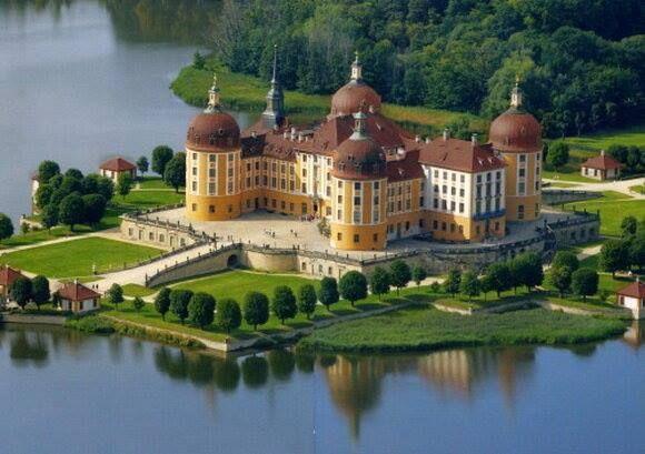 Moritzburg Castle, Germany.