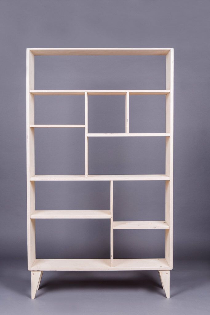 wooden bookcase VENT by WoodRepublicPL on Etsy https://www.etsy.com/listing/274393372/wooden-bookcase-vent