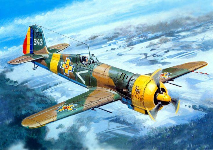 1942 IAR-80 - Valery Rudenko