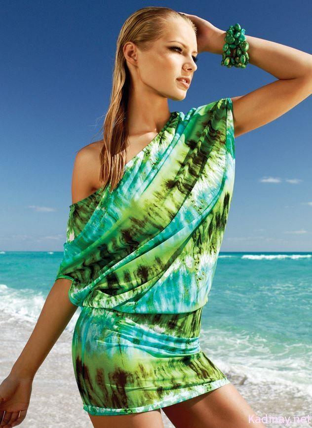zeki triko 2013plaj elbisesi modelleri