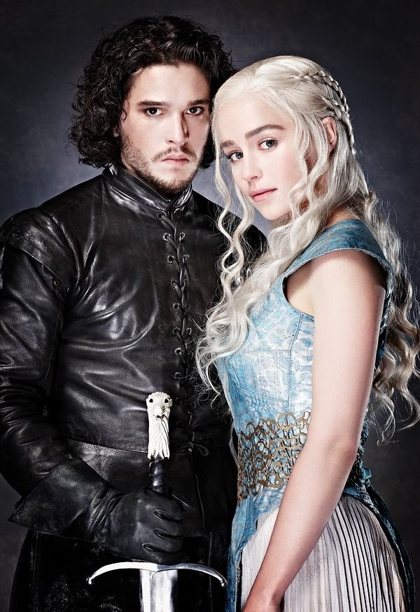 Jon Snow and Daenerys Targaryen                                                                                                                                                      More