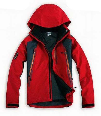 North Face Triclimate Jacket Clearance Men Red T021 Sale Online