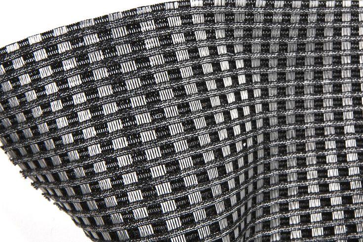 #3D #Fabric #Automotive #GateanoRossini with #MATERIA in #Kialamy Silver Yarn