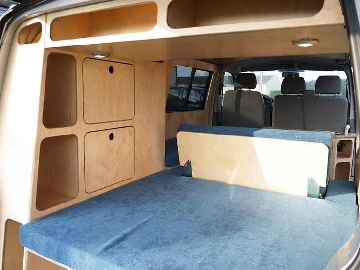 Les 25 meilleures id es de la cat gorie combi ww sur pinterest volkswagen camping car van - Plan amenagement transporter t5 ...