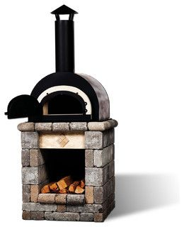 I love this grill for the vineyard built in the ground - Chimeneas sirvent ...