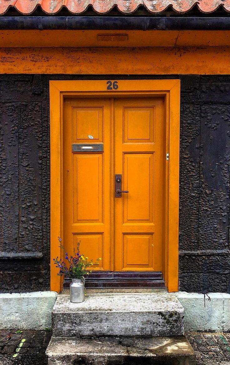 best 25+ orange front doors ideas on pinterest | orange door