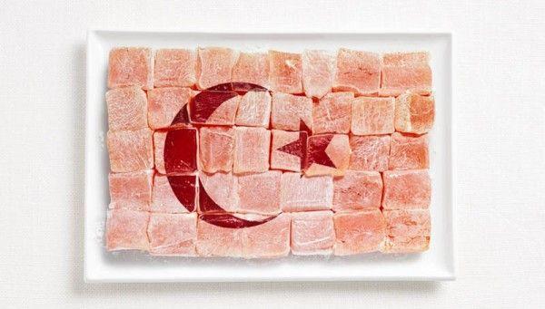 Flag of Turkey — Turkish delight