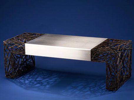 Designer Dan McCabe Describes His U201cTwo Facedu201d Coffee Table As U201cstrikingly  Modernu201d