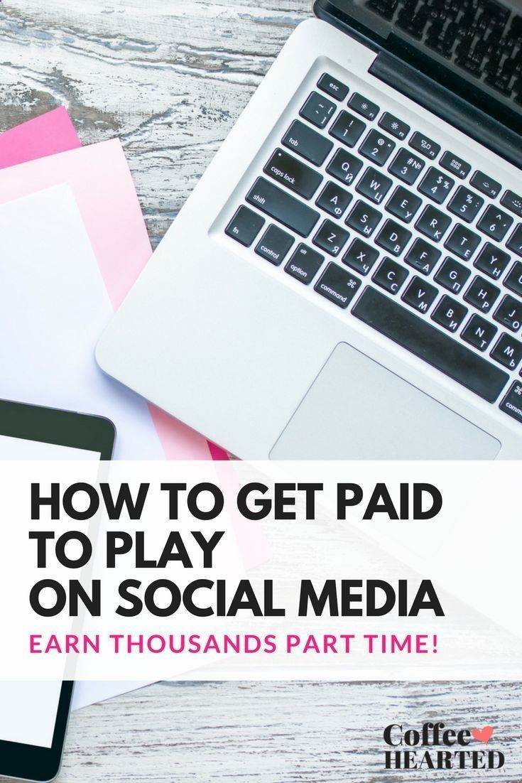 How to get paid to play on social media // Coffee Hearted