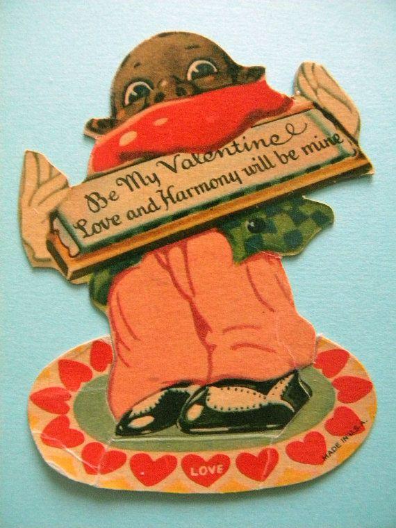 Valentine S Day Vintage Toys : Best images about antique vintage black memorabilia