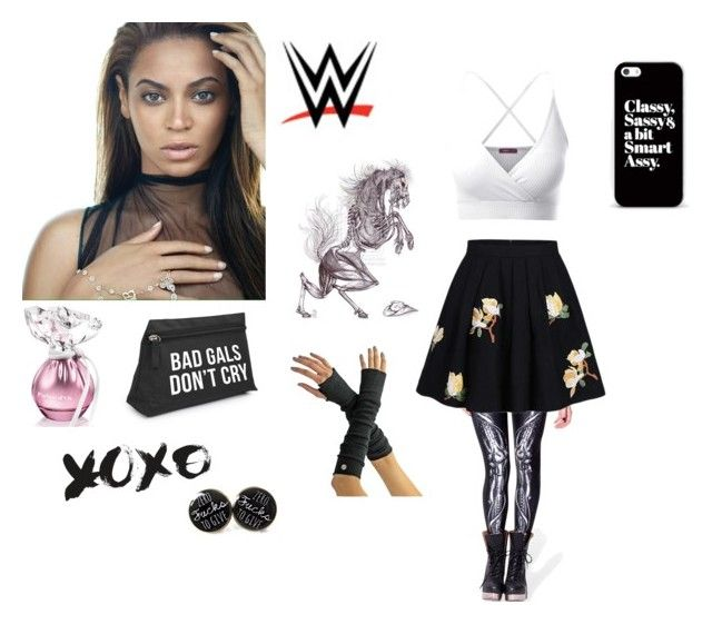 """WWE NXT Diva Newcomer Ashleigh Hunies"" by rhiannablissrollins on Polyvore featuring WithChic, WWE, Doublju and Casetify"